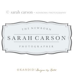 Premade Logo and Watermark Perfect For Branding by KMarshPhotos, $60.00