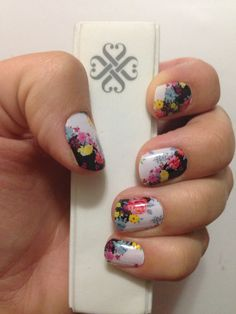 Mad Hatter Jamberry Nails. Love them!