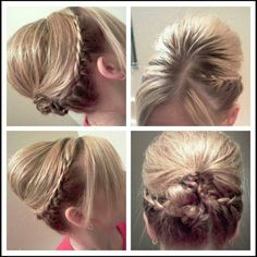 Lace braid updo #beautybyjessicariley