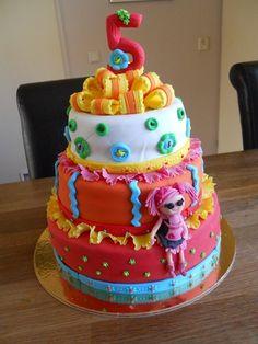 Lala Loopsy birthday cake