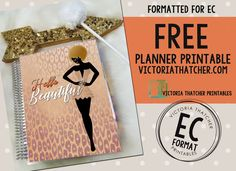Picture Hello Beautiful - DIY Planner Covers