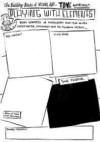 Dan Haycocks value sheet Art Worksheets, School Worksheets, Elements And Principles, Elements Of Art, Composition Examples, Art Sub Lessons, Brain Book, Importance Of Art, Art Handouts