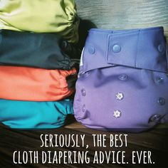 Today on the TGN Blog, 'seriously, the best cloth diapering advice. ever.'