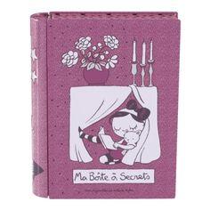 """Boite à livre """"Ma Boîte à Secrets"""""""