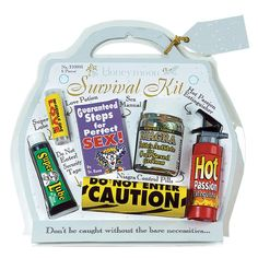 Honeymoon Survival Kit :-)  I can make my own version!