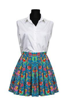 #Skirt in #LibertyLondon Tana Lawn fabric by DressbyGS on Etsy  #SewLiberty