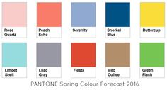 Discover more about the Pantone Spring 2016 colour forecast and how to wear these colours and which kinds of colouring they suit
