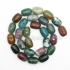 Gemstone Beads, Fancy Jasper, Smooth rounded tube, Approx 15x10mm, Hole: Approx 1.5mm, 27 pcs per strand, Sold by Strands