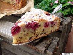 Saftiger Rührkuchen mit Kirschen - Aus meinem Kuchen und Tortenblog