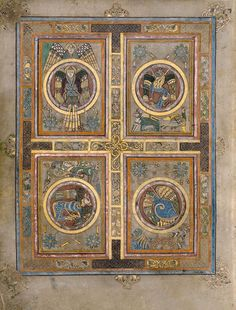 Visit Dublin - Book of Kells Book Of Kells, Medieval Manuscript, Medieval Art, Illuminated Letters, Illuminated Manuscript, Four Gospels, Book Of Hours, Celtic Art, Celtic Designs