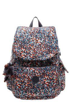 Kipling CITY PACK Plecak multicoloured 305.10zł #moda #fashion #women #kobieta #kipling #city #plecak #multicoloured #damski