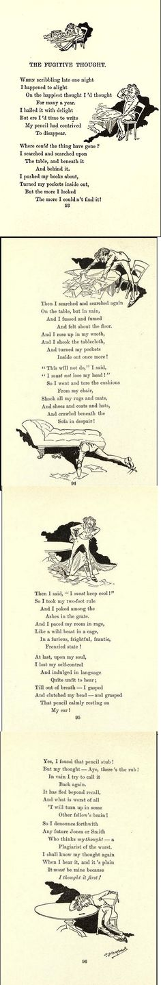 The bashful earthquake & other fables and verses by Herford, Oliver, 1863-1935 Published 1898  1