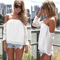 New Sexy Off Shoulder Blouse