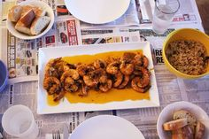 New Orleans Spicy Cajun Shrimp