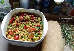 renate goes vegan: Kichererbsensalat