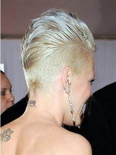 Rihanna Curly Mohawk - Bing Images
