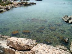La définition d'une eau transparente à la plage d'Es Trenc au Baléares, parfait pour le snorkelling