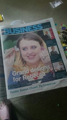Front page of the business section!