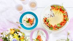 Paistettu parmesaanijuustokakku - K-ruoka