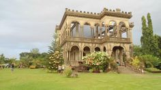 The Ruins in Talisay City, Negros Occidental is what remained of the grand mansion that Don Mariano Lacson built, following the death of his first wife, Maria Braga. Built in memory of Maria Braga, the mansion became the residence of Don Mariano and his unmarried children.  Today, it is a tourist attraction for its romantic, yet strong structures. Many interesting tales and facts lie within the walls and posts that remained of the Ruins.
