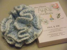 アリス色のシュシュ(ゴム後付け)#36の作り方 編み物 編み物・手芸・ソーイング アトリエ