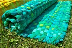 Recycled T Shirt Rag Rug