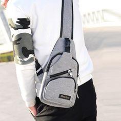 Usb, Sling Backpack, Backpacks, Bags, Fashion, Fashion Styles, Handbags, Moda, Backpack