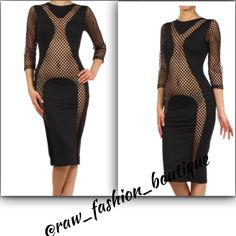 Peep-A-Boo Dress www.rawfashionboutique.co Shop and Save!!! Sign up for our newsletters!!! Visit our website and check out new arrivals