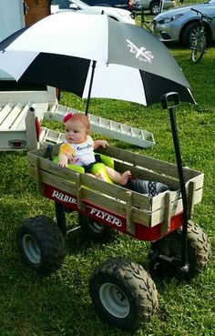 Another wagon built for my daughter Custom Radio Flyer Wagon, Radio Flyer Wagons, Kids Wagon, Welding Projects, Baby Strollers, To My Daughter, Children, Baby Prams, Young Children