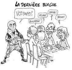 Humour Ch'ti, Georges Wolinski, Charlie Hebdo, Okapi, Expressions, Image Comics, Caricature, Religion, Lol