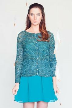 This fabulous crochet sweater pattern is free until March 15, 2014! Thank you #InterweaveCrochet! Cirque Cardigan