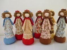 use serger cones inside Easy Christmas Ornaments, Christmas Angels, Christmas Art, Christmas Projects, Handmade Christmas, Christmas Decorations, Diy Angels, Handmade Angels, Angel Crafts