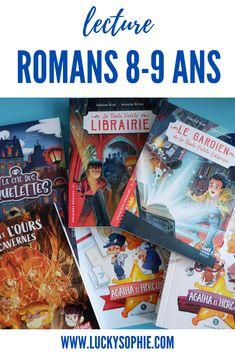 Premiers romans pour 8-9 ans #lecture #livre #roman #enfant #premiersromans #8ans #9ans Adeline, Agatha, Album Jeunesse, Lectures, Roman, Hercule, 9 Year Olds, Documentary, Kid