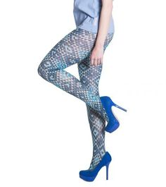 Blutsgeschwister | wild tights delightful pattern stretch | M/L