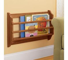 Kids' Shelves Kids Honey Wall Book Bin