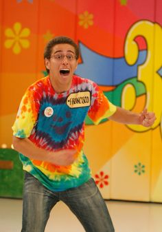 The price is Right... and he is going nuts
