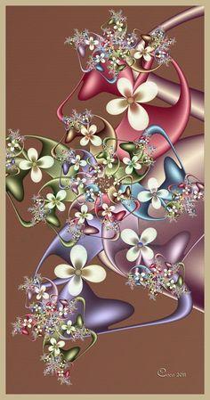 "Bouquet"" by Coco, [Fractal Art]"