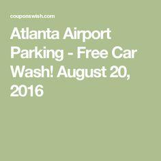 Atlanta airport parking coupon
