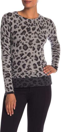 abdbf8e181 M BY MAGASCHONI Animal Patterned Cashmere Pullover  ad Autumn Winter  Fashion