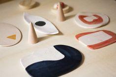 A realidade do dia de fotos… ●All the mess left behind our day shooting ceramics.