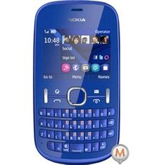 Nokia Asha 201 in Blue