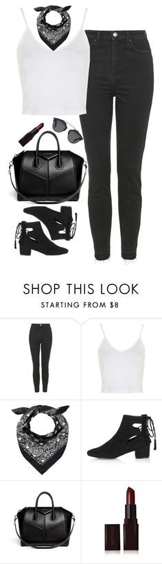 """""""Untitled #300"""" by lindsjayne ❤ liked on Polyvore featuring Topshop, Givenchy, Laura Mercier and Christian Dior"""
