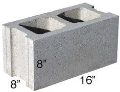 Concrete Block Calculator Find The Number Of Blocks Needed For A Wall Or Foundation Inch Calculator In 2020 Concrete Block Walls Concrete Blocks Breeze Blocks