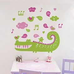 детские наклейки на стены