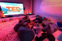 See how organizers create an inspiring and interesting atmosphere for conference attendees. More than 1,400 people from 58 countries gathered at the Vancouver Convention Centre beginning February 15 for the five-day TED Conference.