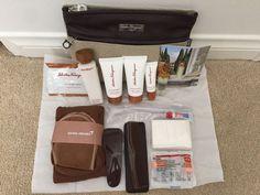 Asiana Airline First Class Salvatore Ferragamo Amenity Kit Brand New/Sealed