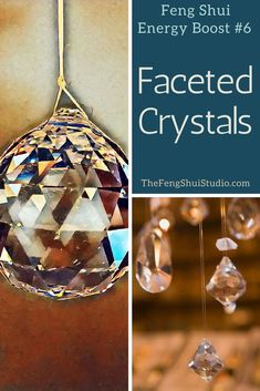 finest selection 5bdcf 45657 Feng Shui loves faceted crystals for balancing energy in your Feng Shui  home. Feng Shui