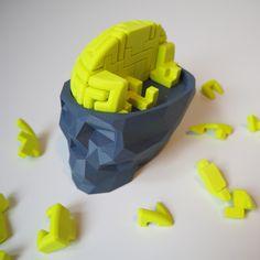 Brain Breaker by Thomas Buseyne 3d Printer Designs, 3d Printer Projects, 3d Projects, 3d Printing Diy, 3d Printing Business, 3d Models For Printing, Useful 3d Prints, Cool 3d Prints, Diy 3d Drucker