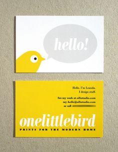 by One Little Bird Studio, via Flickr