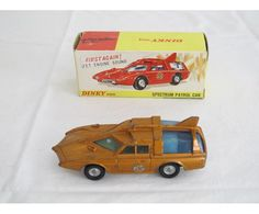 """A Dinky Toys No. 103 """"Captain Scarlet"""" spectrum patrol car - AuctionMyStuff The Dinky Toys Sale For Charity, online auction 30 May - 19 June"""
